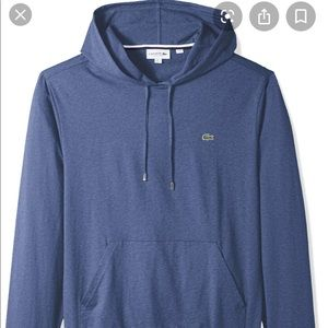 Lacoste Mens Hooded Long Sleeve L